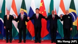 BRICS ညီလာခံတက္ေရာက္ေသာ ႏိုင္ငံ႔ေခါင္းေဆာင္မ်ား