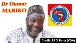 SADI Ka Jamanatigi Gninili Cebow Dr Oumar Mariko Ka Yere Kofow Bara Koromakarili Bougouni