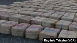 Mais de 1600 quilos encontados em casa no interior do país