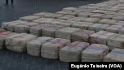 Sete guineenses e cinco estrangeiros respondem por quase duas mil toneladas de droga