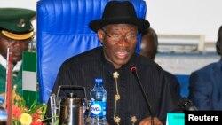 Shugaba Goodluck Jonathan na Nijeriya