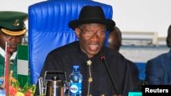 尼日利亞總統喬納森 (資料照片)