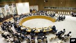 联合国安理会5月2日会议会场