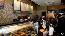 美國咖啡連鎖店星巴克在中國市場