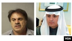در دادخواست علیه «منصور ارباب سیر» گفته شد او با کمک سپاه سعی در ترور سفیر وقت عربستان در واشنگتن داشت.