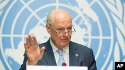 استفان دی میستورا، فرستاده ویژه سازمان ملل در امور سوریه