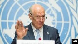 استافان دی میستورا، فرستاده ویژه سازمان ملل به سوریه