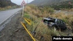 عکس از آرشیو تصادفات جاده ای در ایران