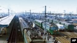 함경북도 길주군 길주청년역(자료사진)
