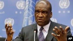 Cựu Chủ tịch Đại Hội đồng Liên Hiệp Quốc John Ashe.