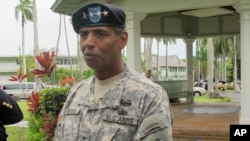 美軍太平洋陸軍司令布魯克斯上將