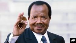 Shugaban Kamaru Paul Biya wanda zai sake tsayawa takara