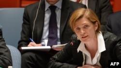 美國常駐聯合國代表薩曼莎.鮑爾