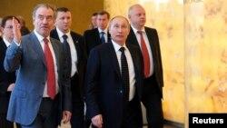 Путін та Ґерґієв оглядають нову сцену Маріїнського театру