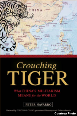 "The cover of ""Crouching Tiger,"" a new book from author and filmmaker Peter Navarro(Peter Navarro)"