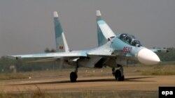 Ảnh minh họa: Máy bay chiến đấu Su-30 MK2 của không quân Việt Nam.