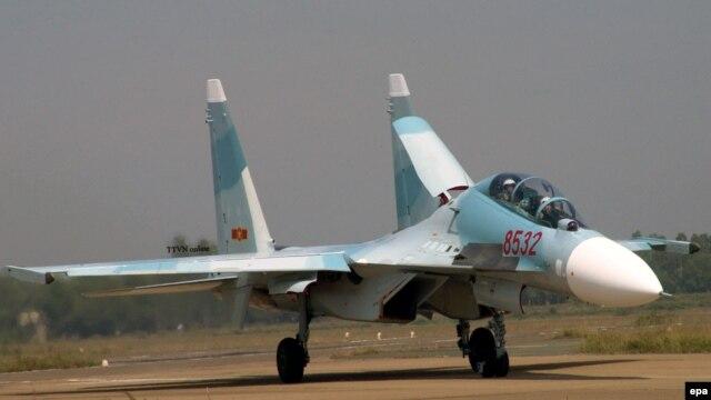 Ảnh minh họa: Chiến đấu cơ SU-30 MK2 của không quân Việt Nam.