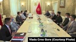 Pregovori Vlade Crne Gore i predstavnika SPC u Podgorici 21. jul 2020. (Foto: Gov.me)