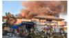Cháy lớn tại khu thương xá Phước Lộc Thọ của người Việt ở California