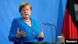 (资料照)德国总理默克尔