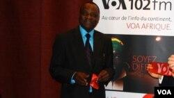 Le ministre sénégalais de la Culture et de la Communication, Mbagnick Ndiaye. La Biennale de Dakar est placée sous la tutelle du Ministère de la Culture et de la Communication du Sénégal.
