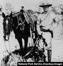 Theodore Roosevelt in Dakota Territory in 1883