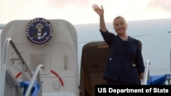 克林顿国务卿将于下星期访问中国