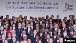 Líderes mundiais participam da Rio+20