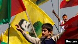 Diyorbakir shahrida Abdulla O'jalon tarafdorlari juda ko'p