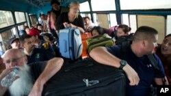 Evakuacija stanovništva, Puerto Vajarta, 23. oktobar 2015.