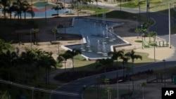 Los juegos olímpico de Rio empiezan el cinco de agosto. Organizadores señalan que el evento no será afectado. Esta es una imagen de la villa olímpica inaugurada el 15 de junio.