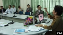 National Election Committee and diplomats to Cambodia