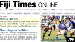 Fiji Times có hạn định ba tháng để thay đổi cơ cấu.