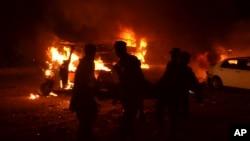 巴基斯坦奎达市发生自杀炸弹袭击。(2017年8月12日)