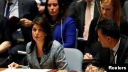 ABD'nin BM Büyükelçisi Nikki Haley