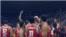 L'équipe de la Tunisie ont remporté la finale de l'Afrobasket, le 16 septembre 2016.
