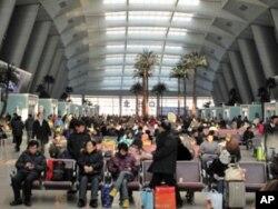 北京南站候车大厅