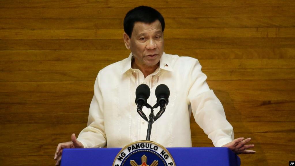 Tổng thống Rodrigo Duterte.