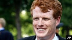 Le démocrate Joe Kennedy à Capitol Hill, à Washington DC, le 26 juillet 2017.