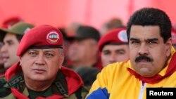 Cabello es considerad el segundo hombre fuerte del régimen que construyó Chávez.