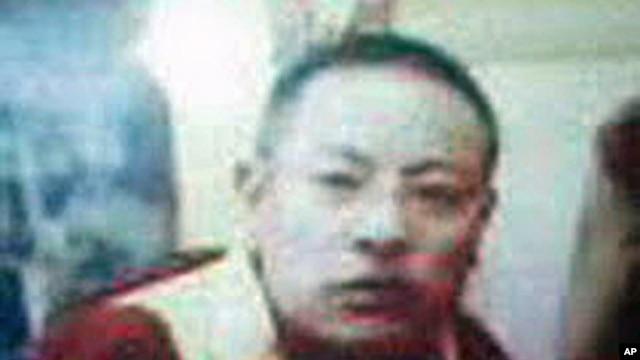 A Tibetan Lama Self-immolates in Golok Darlak