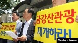 [인터뷰 오디오 듣기] 금강산기업인협의회 최요식 상임고문