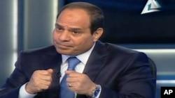Mantan pemimpin militer Mesir, Abdel Fattah el-Sissi berjanji meningkatkan kondisi kehidupan warga Mesir dalam waktu dua tahun (foto: dok).