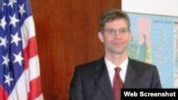 ABŞ Dövlət Departamentinin Cənubi Qafqaz ölkələri üzrə xidmətinin direktoru Con Mark Pommerşeym (John Mark Pommersheim)