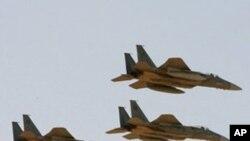 사우디 아라비아 공군의 F-15 전폭기