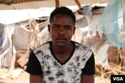 Abdulaziz Yassir Yahya, a 24 year-old Sudanese refugee from Darfur, living in Kakuma refugee camp. Yahya was scheduled to fly from Kakuma to Nairobi on January 30, for processing for his resettlement in Tucson, Arizona, but the U.S. travel ban prevented him from doing so. He now waits for more information in Kakuma, Kenya, Feb. 6, 2017.