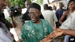 Ousainou Darboe, chef du principal parti d'opposition gambien et avocat des droits de l'Homme, était candidat de l'opposition lors de la dernière élection de 2006 en Gambie, 22 septembre 2006.