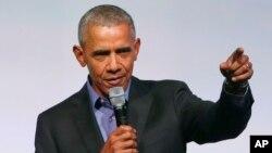 El expresidente de EE.UU. Barack Obama realiza una gira por China, India y Francia.