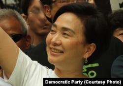 FILE - Emily Lau, a Hong Kong politician and member of the Legislative Council.