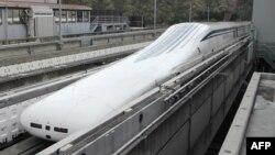 Tàu lửa maglev chạy với vận tốc hơn 600 kilômét/giờ trong gần 11 giây trong cuộc chạy thí nghiệm hôm 21/4/2015.